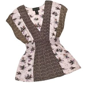 Corey Lynn Calter song bird silk blouse